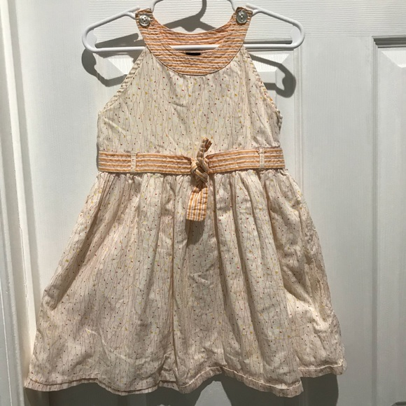 Baby Gap Floral Dress Country Prairie Sundress Bow
